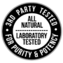 3rd Party Tested Badge